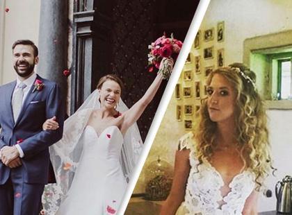 I Lara Gessler, i Anna Starmach, wyszły za mąż w ten weekend! Jak wyglądały ich uroczystości?