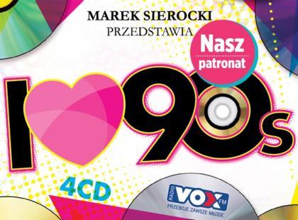 """""""I love 90"""", czyli najlepsze przeboje lat 90."""