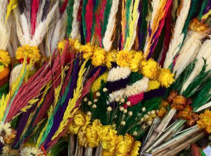 Idziesz w niedzielę z palemką do Kościoła? A czy znasz tradycje, związane z Niedzielą Palmową?