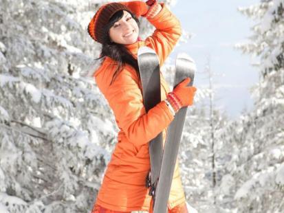 Ile kalorii spalisz dzięki sportom zimowym?