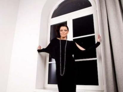 Ilona Felicjańska modelką Małgorzaty Dudek