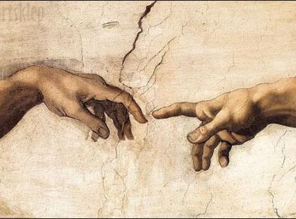 Imitacja fresku w decoupage'u