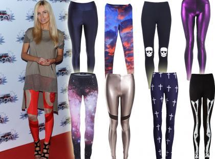 Imprezowe legginsy na jesień 2012 już od 40zł