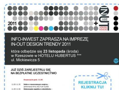 In-Out Design Trendy 2011 w Rzeszowie