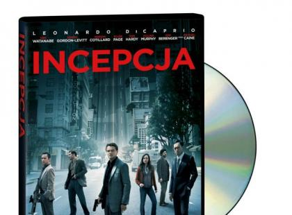 """Incepcja"" na DVD"