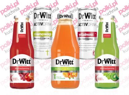 Innowacyjne napoje funkcjonalne DrWitt