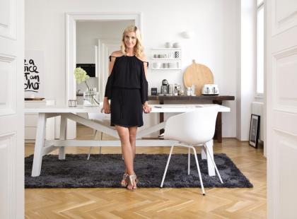 Inspirujące wnętrze w bieli. Zobacz zdjęcia mieszkania znanej blogerki!
