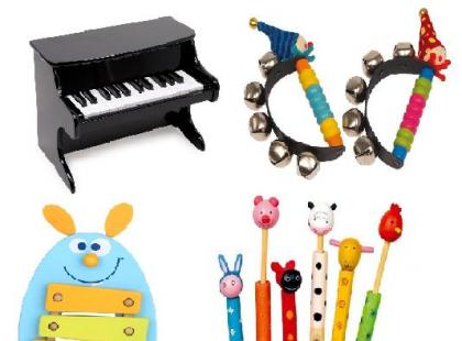 Instrumenty muzyczne dla dziecka – galeria