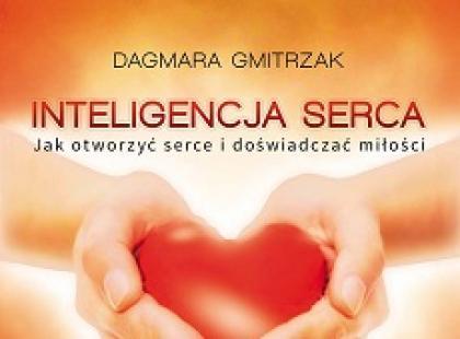 Inteligencja serca; Dagmara Gmitrzak/ Studio Astropsychologii/ okładka