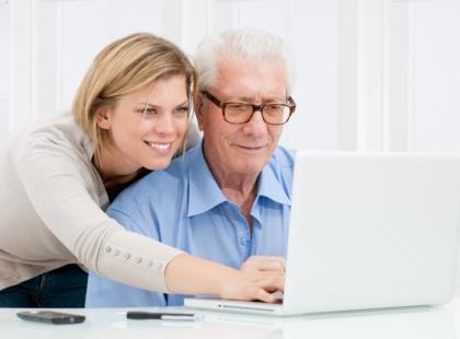 Internauta na emeryturze to wciąż rzadkość