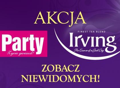 """Irving i """"Party"""" na rzecz niewidomych – rusza akcja edukacyjno-charytatywna"""