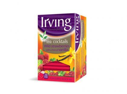 Irving Tea Cocktails Poziomki z nutą Wanilii na dobry początek dnia