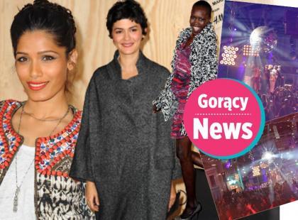 Isabel Marant dla H&M: gwiazdy imprezowały na ulicach Paryża