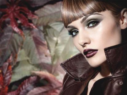 IsaDora Forest Groove - makijaż na jesień 2011