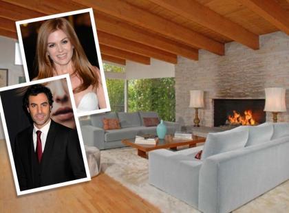 Isla Fisher i Sacha Baron Cohen sprzedają dom w Los Angeles