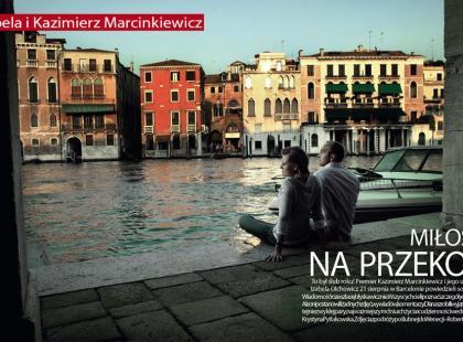 Izabela i Kazimierz Marcinkiewicz po raz pierwszy razem!