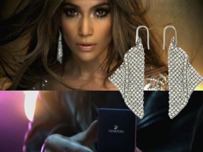 J.Lo błyszczy w teledysku kryształami Swarovskiego