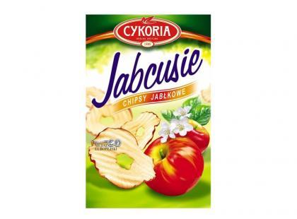 Jabcusie – chipsy jabłkowe