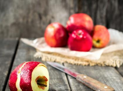 Jabłecznik z cynamonową kruszonką