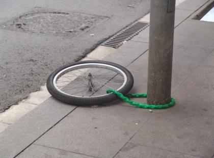 Jak bezpiecznie zaparkować rower