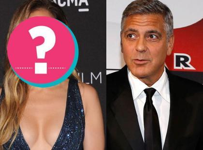 Jak całuje George Clooney? Pewna gwiazda podzieliła się wrażeniami
