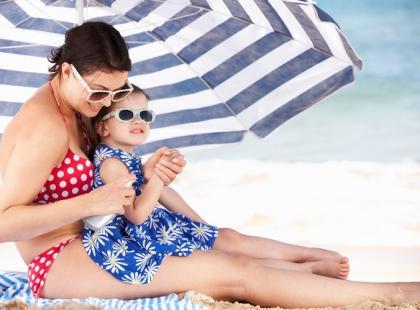 Jak chronić skórę dziecka przed promieniowaniem UV?