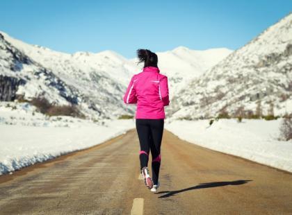 Jak ćwiczyć zimą by nie zachorować na grypę?