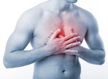 Ból w klatce piersiowej/ fot. Fotolia