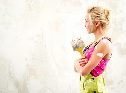 Jak czyścić wałki i pędzle malarskie?