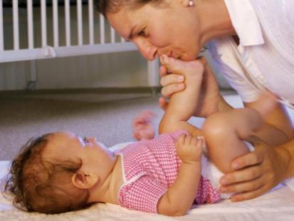 Jak dbać o pupę niemowlęcia