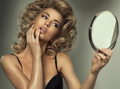 Jak długo wytrzymałabyś bez lustra?