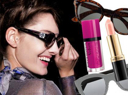 Jak dobrać kolor szminki do oprawek okularów?