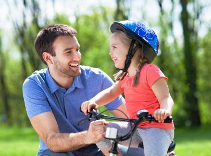 Jak jeździć na rowerze, jak zaparkować samochód, jak zawiązać krawat? Kto cię tego nauczył?