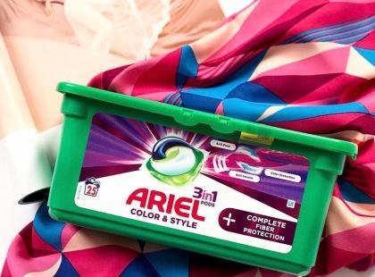 Jak kapsułki do prania Ariel Complete Fiber Protection PODS wypadły w teście redakcji?