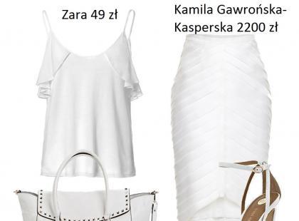 Jak nosić biel - biały total look - stylizacje