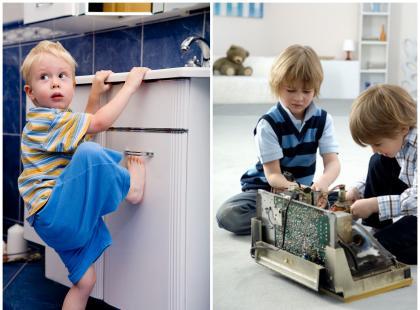 Jak ochronić dziecko przed pułapkami w mieszkaniu?