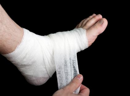 Jak opatrzyć ranę, uraz lub złamanie?