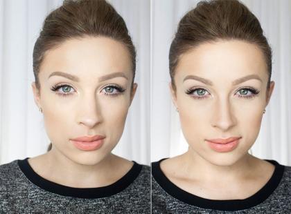 Jak optycznie zmniejszyć nos makijażem?
