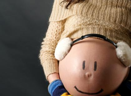 Jak przetrwać ciążę zimą?
