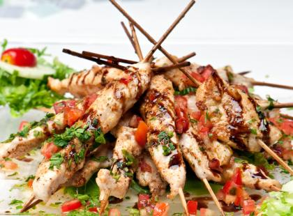 Jak przygotować kebab o niskiej zawartości tłuszczu?