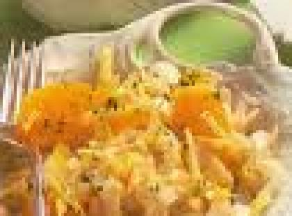 Jak przygotować surówkę z cykorii i pomarańczy?
