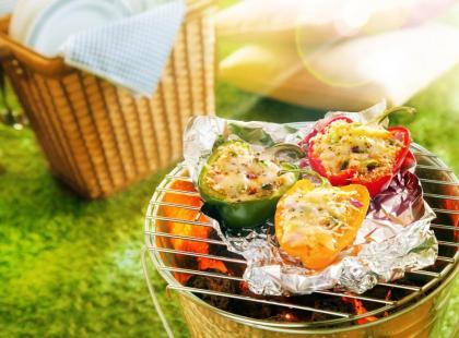 Jak przyrządzić owoce i warzywa z grilla?