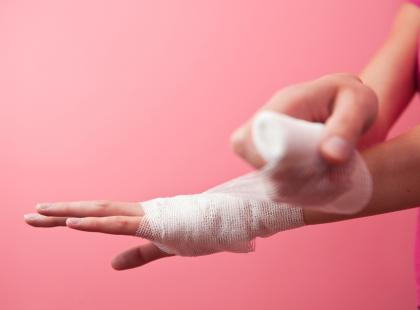 Jak schładzać oparzenia?