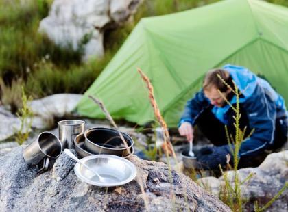 Jak smakuje jedzenie przygotowane wysoko w górach?