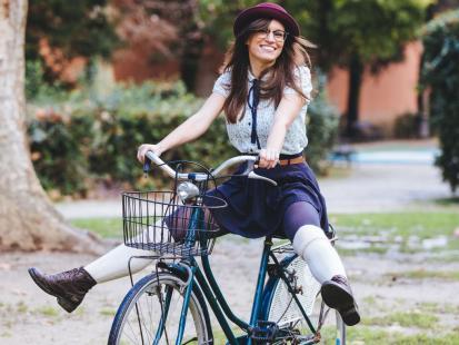 Jak sprawić, by rower wyglądał modnie? Oto 5 pomysłów!