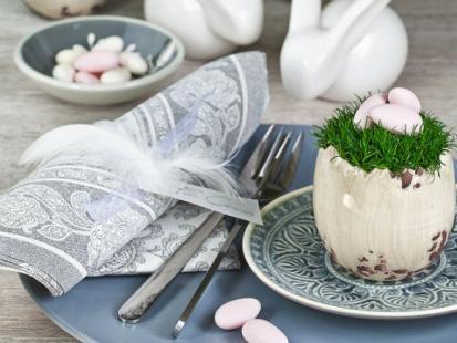 Jak stworzyć efektowną aranżację stołu na Wielkanoc?