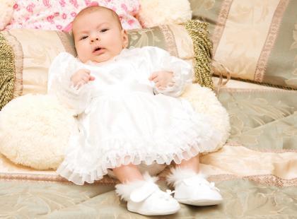 Jak ubrać dziewczynkę do Chrztu