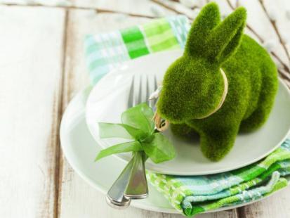 Jak udekorować talerze na Wielkanoc?