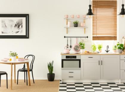 Stolik W Małej Kuchni Jak Zaaranżować Przestrzeń