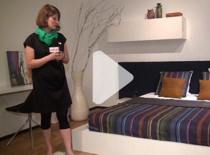 Jak urządzić sypialnię według zasad feng shui? [video]